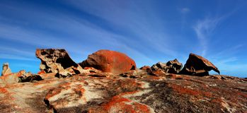 Remarkable Rocks. Kangaroo Island Stock Photo
