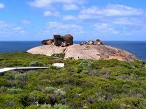 Remarkable Rocks. View on the Remarkable Rocks Royalty Free Stock Image
