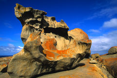 Remarkable Rocks Australia. A rock formation at remarkable rocks on kangaroo island australia Royalty Free Stock Photography