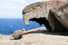 Remarkable Rocks Australia. Remarkable Rocks in Flinders Chase Australia Royalty Free Stock Photography