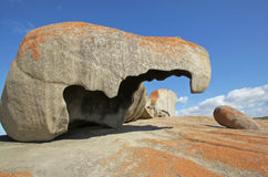 Remarkable Rocks, Australia. Remarkable Rocks, Flinders Chase National Park, Kangaroo Island, South Australia Stock Photo
