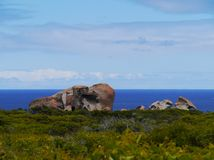 Remarkable rocks in flinders  Chase Royalty Free Stock Photo