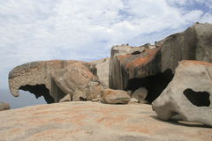 Remarkable Rocks, Kangaroo Island Stock Photography