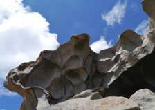 Remarkable rocks on Kangaroo island in Australia Royalty Free Stock Images