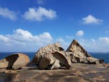 REMARKABLE ROCKS AT KANGAROO ISLAND stock image