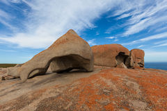 The Remarkable Rocks, Kangaroo Island, South Australia. Royalty Free Stock Image