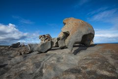 The Remarkable Rocks of Kangaroo Island, South Australia. Kangaroo Island, a wildlife paradise, lies in the Southern Ocean, some way off the coast of Adelaide stock photo