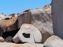 Remarkable rocks  Kangaroo island Royalty Free Stock Photo