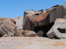 Remarkable rocks  Kangaroo island Royalty Free Stock Photography