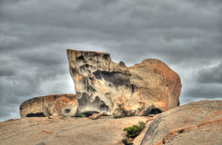 Remarkable rocks on Kangourou Island Stock Image