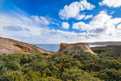 Remarkable Rocks, natural rock formation at Flinders Chase Natio Stock Photo