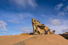 Remarkable Rocks, natural rock formation at Flinders Chase Natio Royalty Free Stock Images