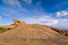 Remarkable Rocks, natural rock formation at Flinders Chase Natio Stock Images