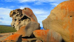 Remarkable Rocks. In Kangaroo Island, South Australia, Australia Stock Image