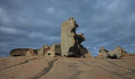 Remarkable Rocks, in the southern part of the Flinders Chase National Park. royalty free stock photos