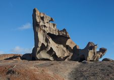 Remarkable Rocks, in the southern part of the Flinders Chase National Park. royalty free stock photo