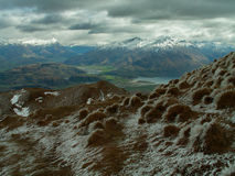 The Remarkables From Mount Roy Stock Image