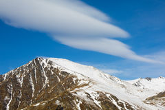 The Remarkables Mountain Royalty Free Stock Photo
