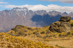 The Remarkables Mountain Royalty Free Stock Images