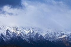 The Remarkables mountain range, New Zealand Royalty Free Stock Images
