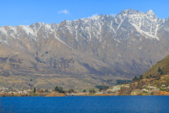 The Remarkables near Queenstown New Zealand Stock Images