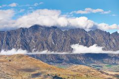 The Remarkables, Queenstown, New Zealand Stock Photo