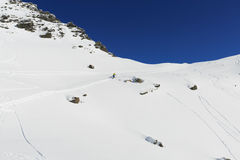 The remarkables ski area Royalty Free Stock Image
