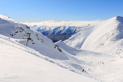 The remarkables ski area Stock Images