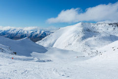 The Remarkables Ski Area Stock Photos