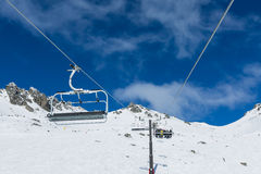 The Remarkables Ski Area Royalty Free Stock Images