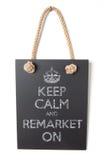 Remarket on Stock Photo