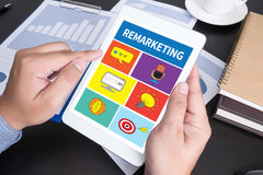 Remarketing Royalty-vrije Stock Afbeelding