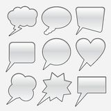 Remarks of different forms  Royalty Free Stock Photo