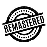 Remastered rubber stamp Royalty Free Stock Photo