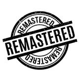 Remastered rubber stamp Stock Photography