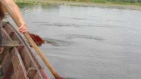 Rematura della barca archivi video