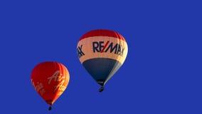 Remax e mongolfiere di Air Asia fotografia stock