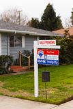 ReMax Integrity For Sale Sign Pending Stock Photos
