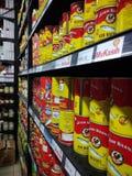 Sardine Ayam Brand royalty free stock photo