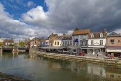 Remblai à Amiens, France Image libre de droits