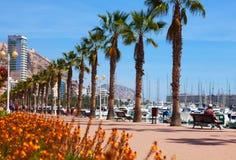 Remblai dans Alicante Images libres de droits