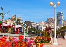 Remblai dans Alicante Photographie stock