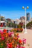 Remblai dans Alicante Photo stock