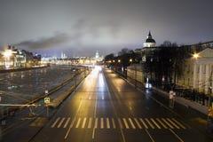 Remblai de Moscou image libre de droits