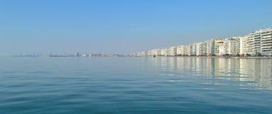 Remblai de Salonique Images stock