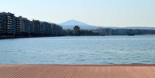 Remblai de Salonique Photos libres de droits