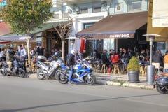 Remblai de ville Saloniki photo libre de droits