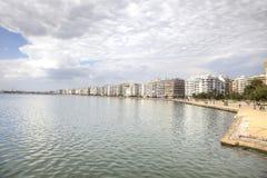 Remblai de ville Salonique photo libre de droits