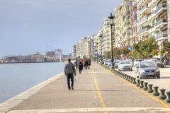 Remblai de ville Salonique photos stock