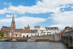 Remblai à Maastricht Photographie stock libre de droits